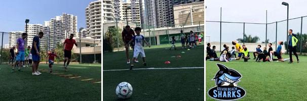 Секция для детей по футболу в Китая