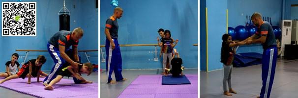 Кикбоксинг в Китая для детей Silver Beach Shenzhen